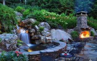 backyard garden waterfall design ideas read now new home