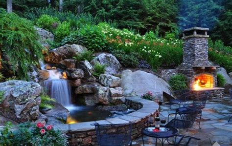 how to make a backyard waterfall backyard garden waterfall design ideas art home design ideas