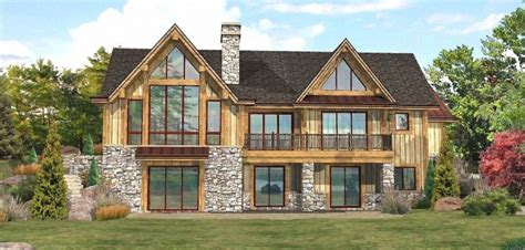 Lake Front House Plans by Images About Lakefront Cottage Home Plans Country Cottage
