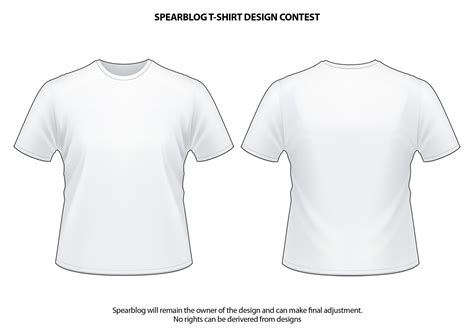 t shirt template cdr image collections templates design