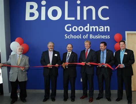 Goodman School Of Business Mba by Biolinc Is In Business Biosciences Incubator At Brock