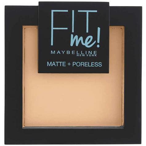 Maybelline Fit Me Poreless Powder maybelline fit me matte poreless pressed powder 9 gr