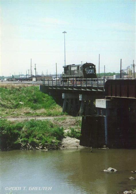 the bridge lincoln ne ns 8005 pulls up to the bridge at the eastern throat of