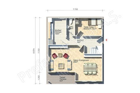 Floor Plan For Duplex House abant 140 m2