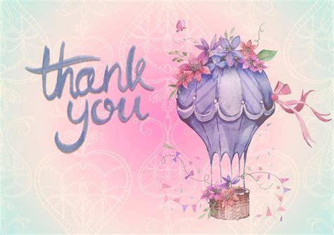 thank you background free illustration thank you background air balloon