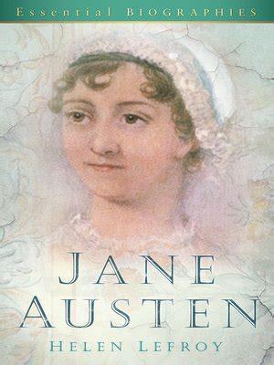 brief biography jane austen jane austen by helen lefroy 183 overdrive ebooks