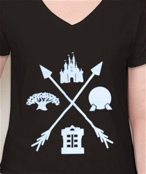 four parks, one world walt disney world inspired shirt
