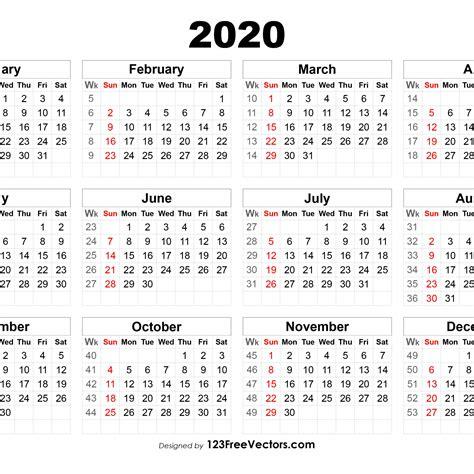 calendar showing week numbers  printable calendar