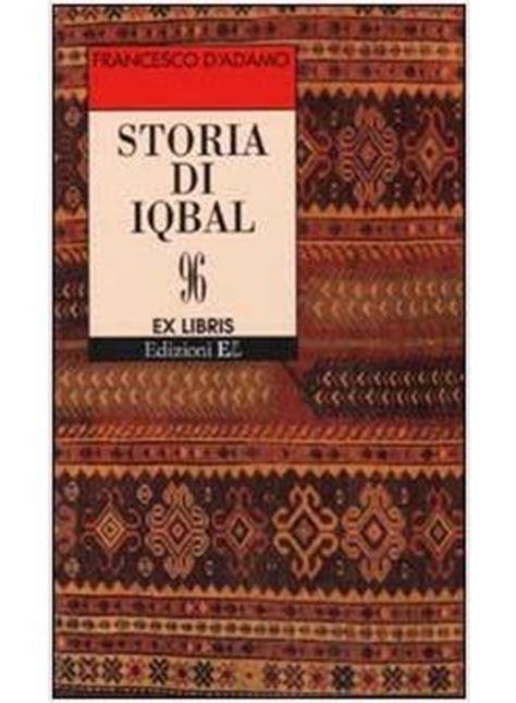 storia di iqbal d adamo francesco el edizioni