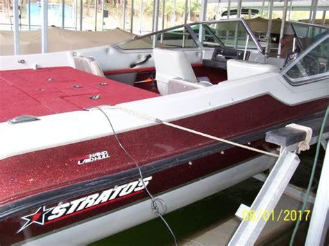 stratos fish and ski boat seats 1993 stratos 290 ski and fish 20 ft boat motor trailer 200