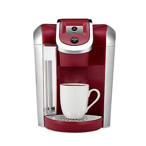 keurig coffee maker bed bath and beyond buy keurig 174 2 0 k475 brewing system in vintage red from