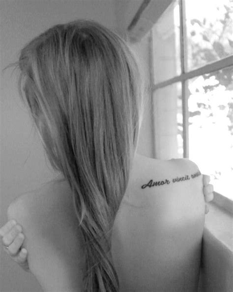 amor vincit omnia tattoo 1000 images about ideas on