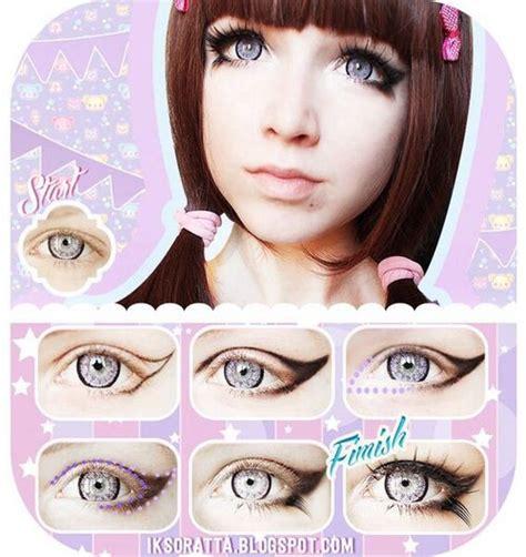 tutorial makeup doll eyes 10 tutoriales de maquillaje para tener unos ojos de anime
