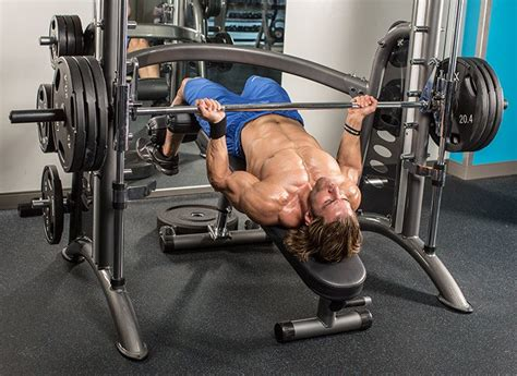 slanted bench press smith machine training tip watch the angles