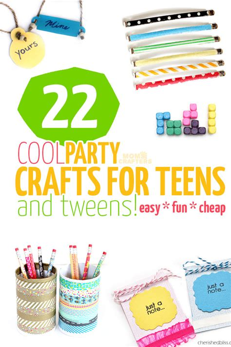 crafts for teenagers 22 cool crafts for and tweens and crafters