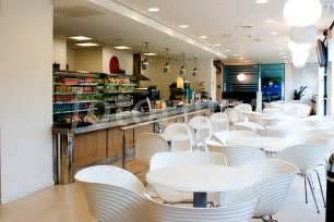 modern cafe white