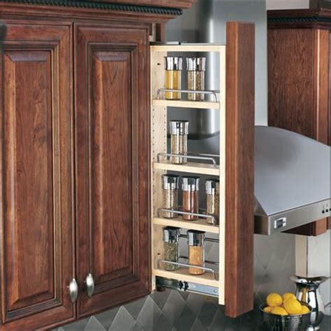 wall spice rack pull out kitchen needs