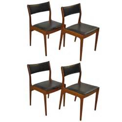 teak dining room chairs for sale johannes andersen for uldum mobelfabrik teak dining chairs for sale at 1stdibs