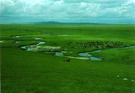 imagenes de verdes praderas la pradera xilamuren verdes paisajes en mongolia