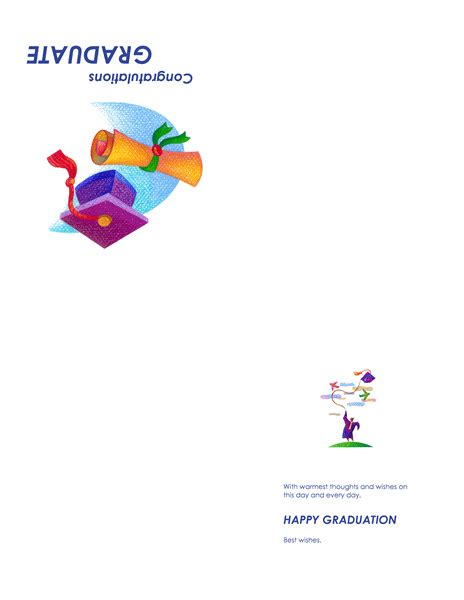 congratulation graduation card template congratulations office