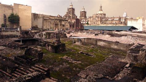 imagenes de ruinas aztecas en busca de las ruinas de m 233 xico tenochtitlan red capital