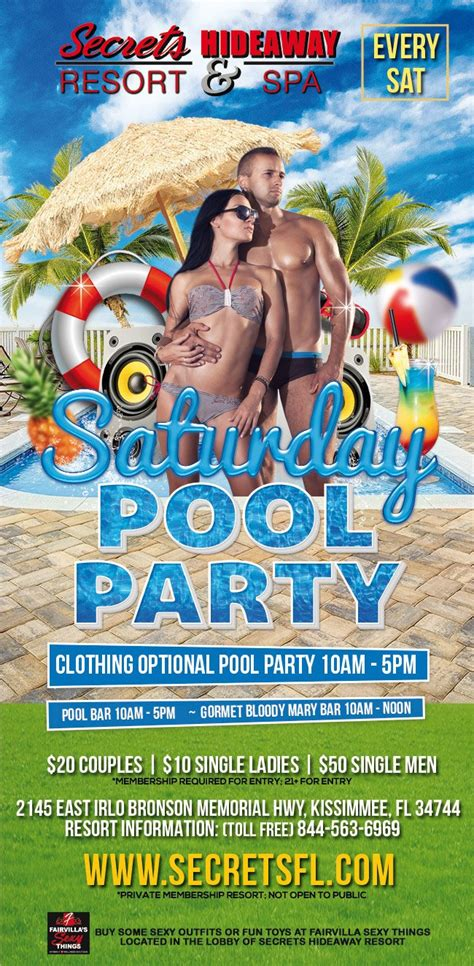 florida swing party events saturday pool party 11am 5pm orlando florida