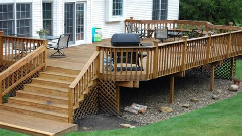 simple deck ideas simple wood deck designs smileydot us