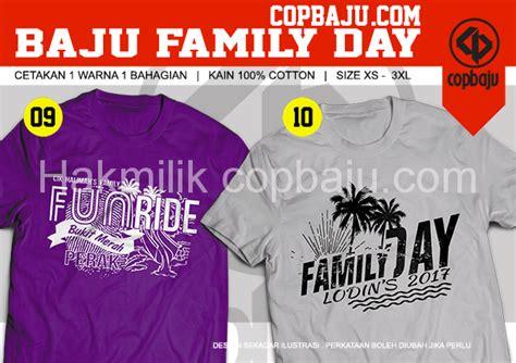design baju ride design readymade baju family day kedai cetak baju online