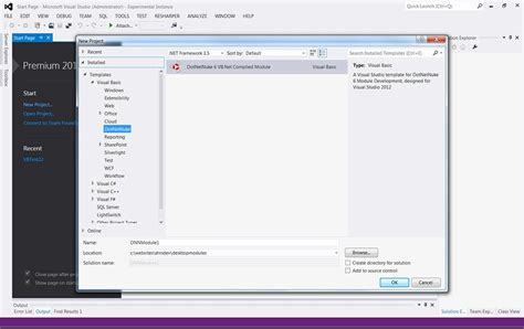 templates asp net visual studio 2012 chris hammond new visual studio 2012 project templates