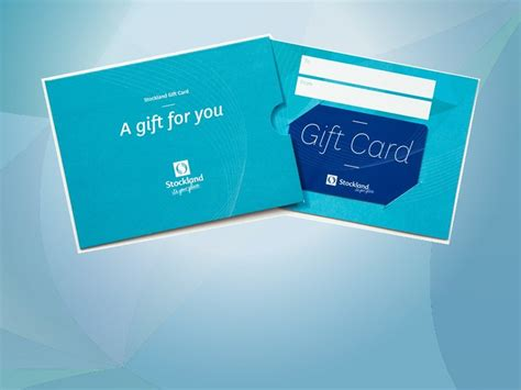 Stockland Gift Card - stockland cammeray shopping centre