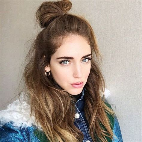 Half Bun Hairstyle by 25 Best Ideas About Half Bun On Top Knot Top