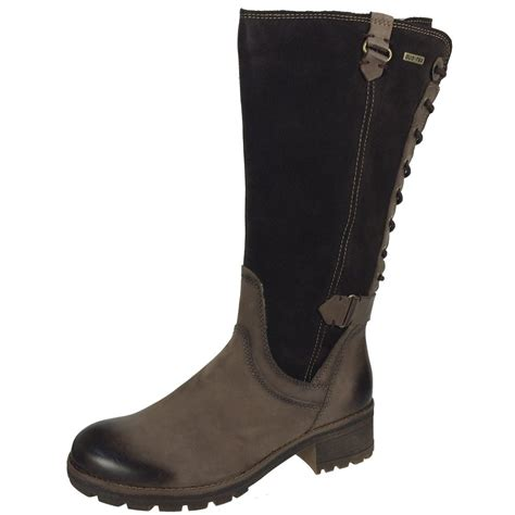 boots co uk tamaris 26534 s mocca boots free delivery at shoes