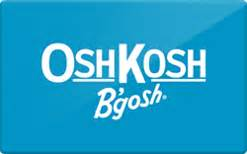 Osh Gift Card - buy oshkosh b gosh gift cards raise
