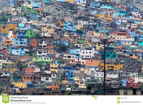 Free Architectural House Plans poverty zones of lima stock photo image of cityscape
