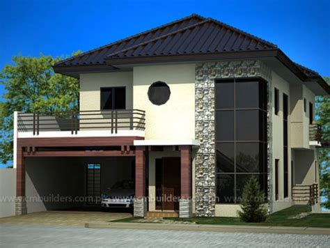 house desighn modern zen house design cm builders