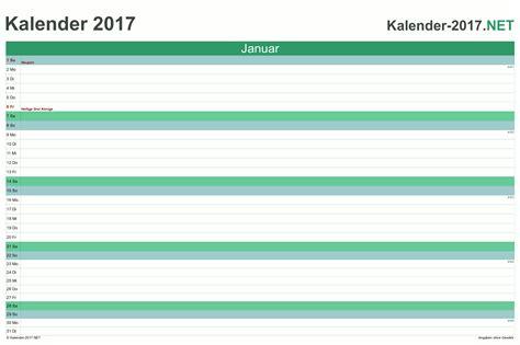 Kalender 2017 Monatskalender Kalender 2017 Mit Feiertagen Ferien