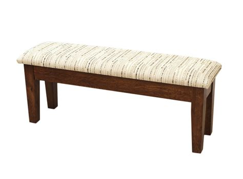 bench craft furniture shaker heavy leg bench dutch craft furniture