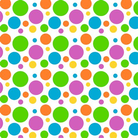 wallpaper bunga polkadot free illustration polka dot background pattern free