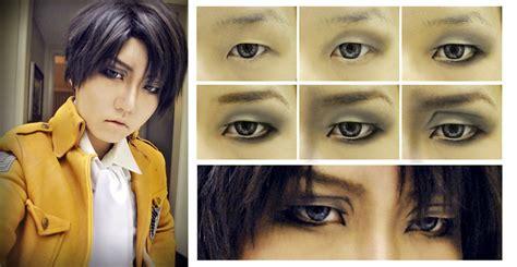 levi makeup tutorial levi rivaille snk eye makeup by phelios123 on deviantart