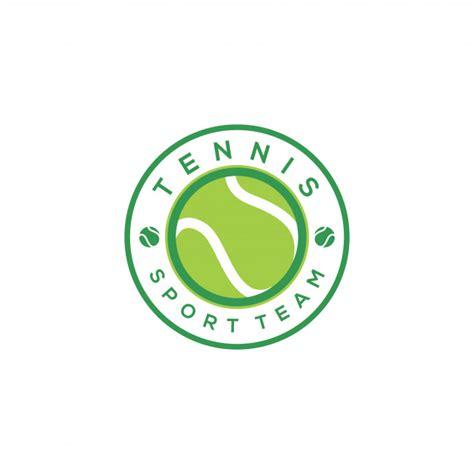 Logo Tenis tennis logo design template vector premium