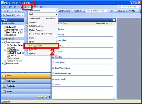 microsoft office outlook setup for new vanity domain accounts