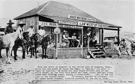 western decor old west vintage photo judge roy bean 1880 western saloon wikipedia
