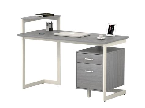 computer desk with two drawers