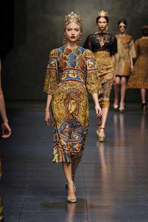 Fallwinter Fashion Dolce Gabbana Fashion Show by Dolce Gabbana Fashion Topics The List