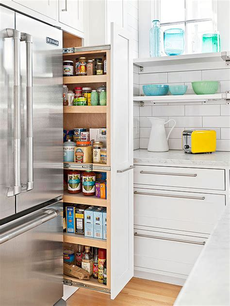 And Pantry Locations a pull out pantry is a great use of space fantastic