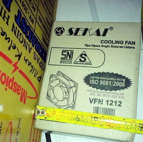 Kipas Angin Kotak Kecil jual kipas besi sekai vfn1212 kotak kecil asli baru garansi resmi surya gemilang toko