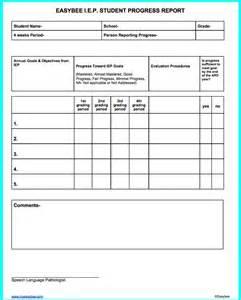 Annual Progress Report Template progress reports progress reports template slp progress report