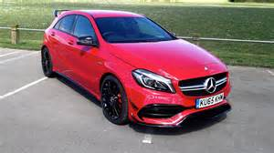Mercedes Amg A45 Mercedes Amg A45 2016 Review Two Minute Road Test