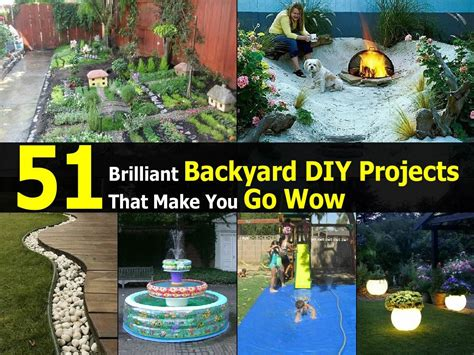 diy projects for backyard 51 brilliant backyard diy projects that make you go wow