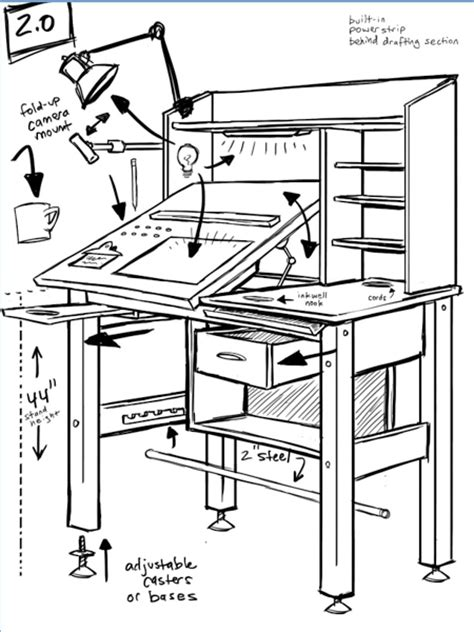 drafting table design plans drafting table design plans diy blueprint plans